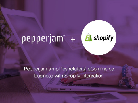 Pepperjam simplifies retailers' eCommerce business with Shopify integration | www.pepperjam.com (Graphic: Business Wire)