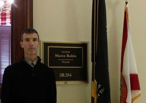 America's child protector and SubscriberWise founder David E. Howe at the Office of United States Se ...