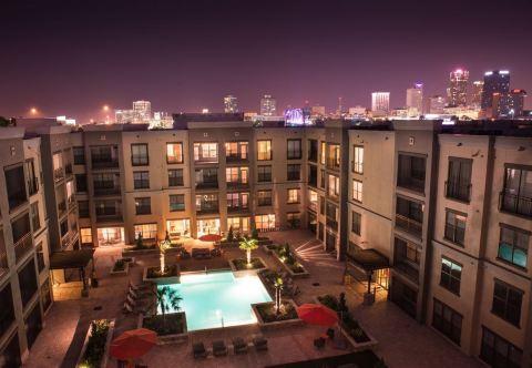 Metropolitan - Abode Properties' Class A asset in Little Rock, Arkansas. (Photo: Business Wire)