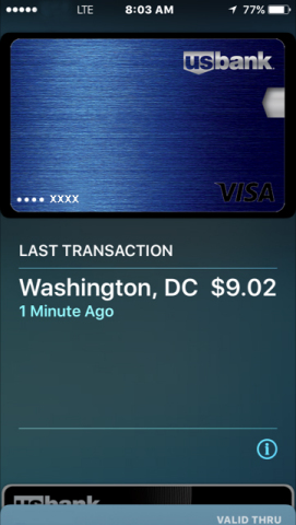 U.S. Bank is first to bring Visa mobile payments to business travel (Photo: U.S. Bank).