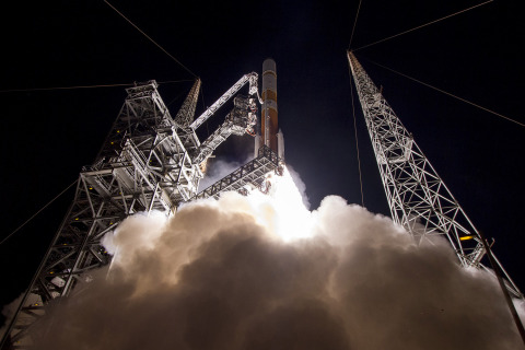 Cape Canaveral Air Force Station, Fla. (March 18, 2017) - A United Launch Alliance (ULA) Delta IV rocket carrying WGS-9 mission lifts off from Space Launch Complex-37 at 8:18.m. ET. Photo by United Launch Alliance (Photo: Business Wire)