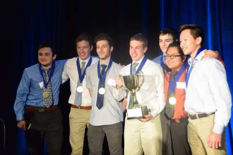 2017 Magnetar Academy Team Challenge winning team Lincoln Park High School. (Photo: Business Wire)