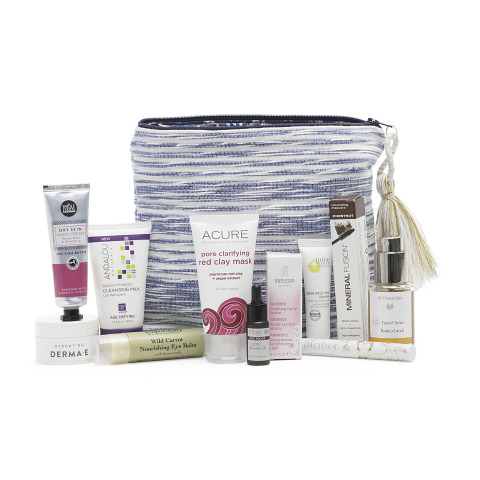 Whole Foods Market's limited edition beauty bag goes on sale Friday, March 24, 2017. (Photo: Business Wire)