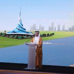 HE Saeed Mohammed Al Tayer speaking at the inauguration of the second phase of the Mohammed bin Rashid Al Maktoum Solar Park (Photo: ME NewsWire)