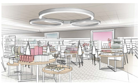 Elevated, cross-merchandise product presentations will amplify Target's exclusive style assortment across various departments.  (Photo: Business Wire)