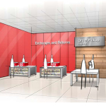 For time-starved guests, the Ease entrance will offer easy access to a dedicated Order Pickup counter, within steps of grocery, a Wine & Beer shop and self-checkout lanes. (Photo: Business Wire)