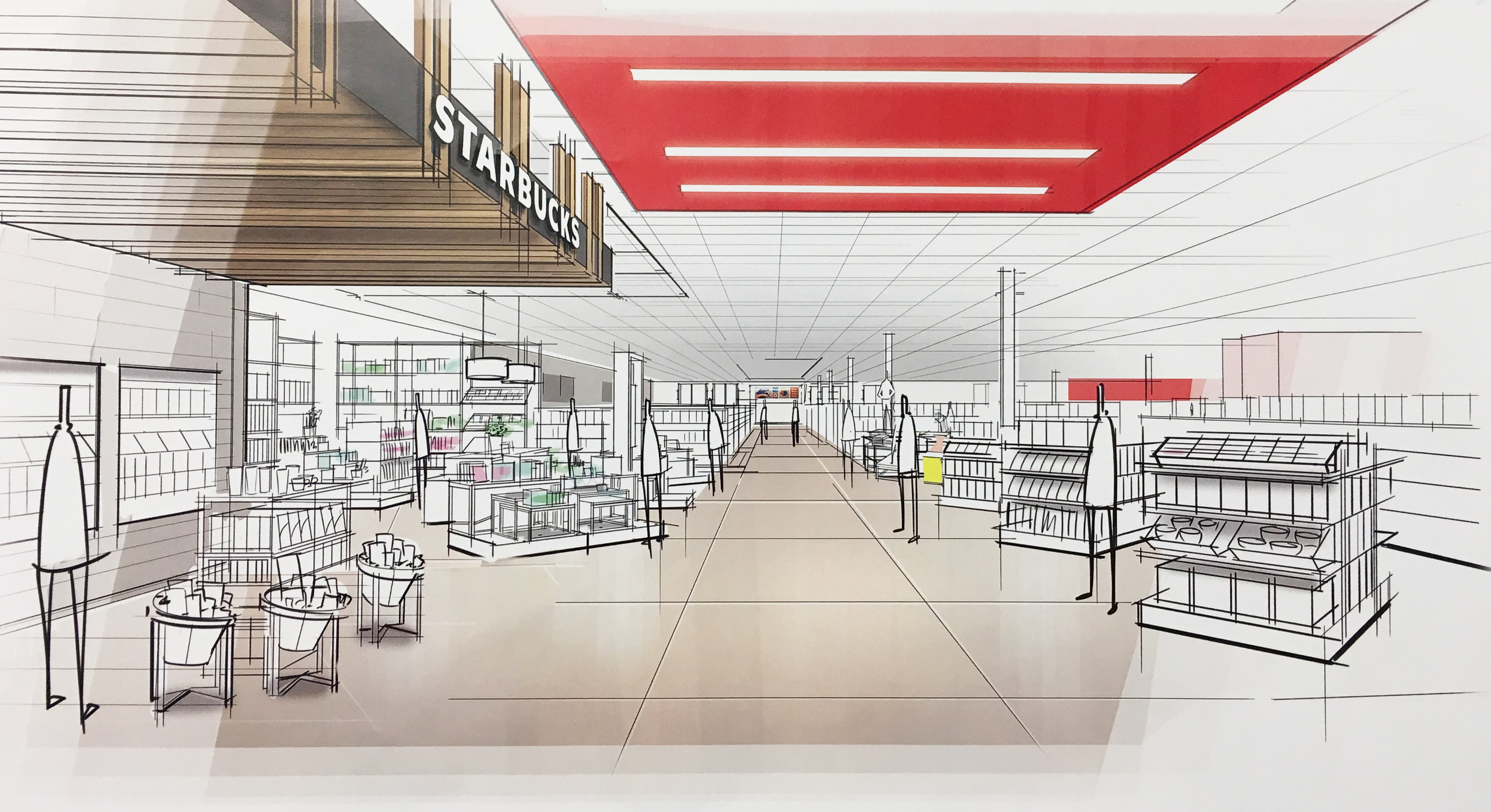 Target revamps stores for those in a rush, those who ramble