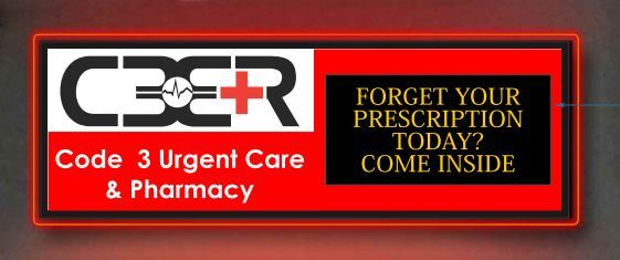 Code 3 Urgent Care and Pharmacy Coming Soon! (Photo: Business Wire)