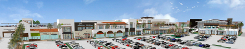 Architectural rendering of The Collection at Del Mar Highlands Town Center, a 120,000 sq. ft. expansion opening in late 2018 (Graphic: Business Wire)