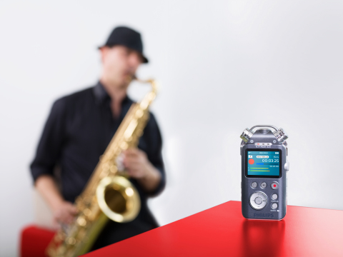 Philips Digital Voice Tracer (Photo: Business Wire)
