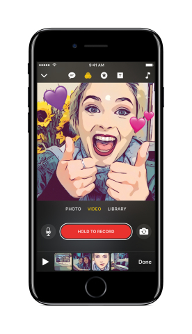 Apple Introduces Clips: The Fun, New Way to Create Expressive Videos on iOS (Graphic: Business Wire)