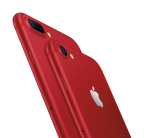 Apple Introduces iPhone 7 & iPhone 7 Plus (PRODUCT)RED Special Edition (Photo: Business Wire)