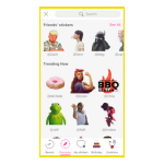 PicsArt Stickers Feed (Graphic: Business Wire)