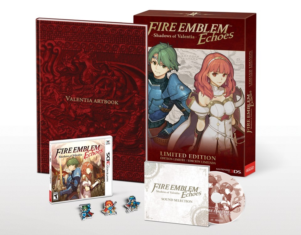 Limited Edition Bundle on the Way for Fire Emblem Echoes: Shadows of Valentia (Photo: Business Wire)