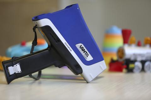 New Vanta analyzer for regulatory compliance testing. (Photo: Business Wire)