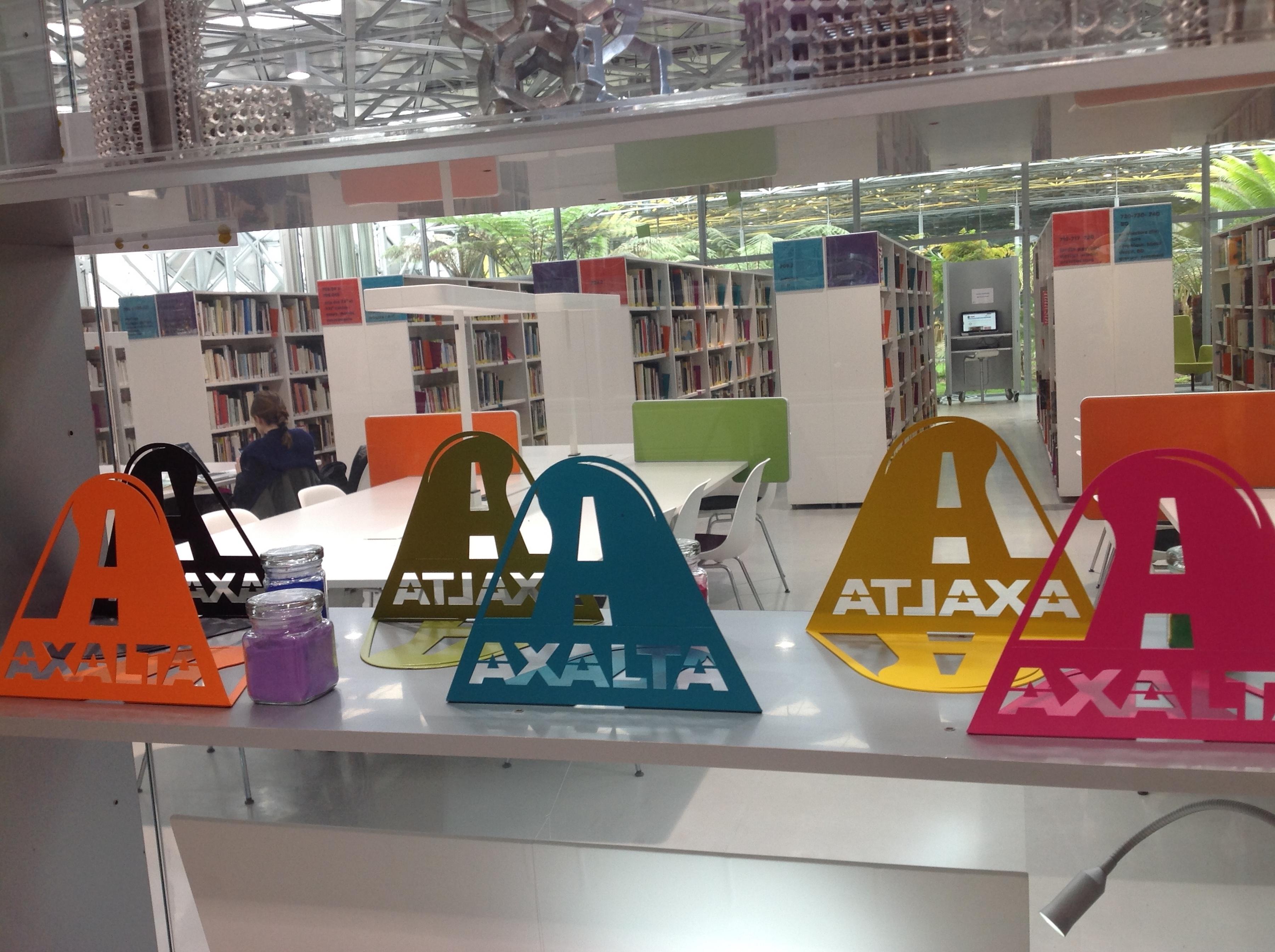Axalta's Alesta® powder coatings on display at the 10th International Biennale Design Event in France. (Photo: Axalta)