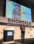 Perfect Corp. CEO, Alice Chang hosts keynote at ShopTalk in Las Vegas. (Photo: Business Wire)