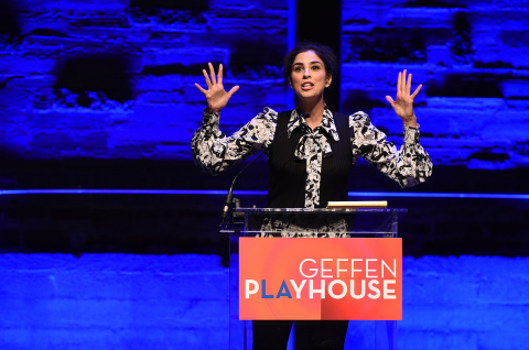 Sarah Silverman at the Geffen Playhouse's 15th Annual Backstage at the Geffen fundraiser on March 19, 2017 (Photo: Business Wire)