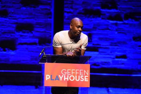 Dave Chappelle at the Geffen Playhouse's 15th Annual Backstage at the Geffen fundraiser on March 19, 2017 (Photo: Business Wire)