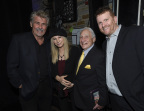 James Brolin, Barbra Streisand, Mel Brooks and Geffen Playhouse Executive Director Gil Cates, Jr. at the Geffen Playhouse's 15th Annual Backstage at the Geffen fundraiser on March 19, 2017 (Photo: Business Wire)