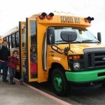 The electrified school bus fleet will significantly reduce greenhouse gas emissions, and provide sustainable transportation for school children. (Photo: Business Wire)