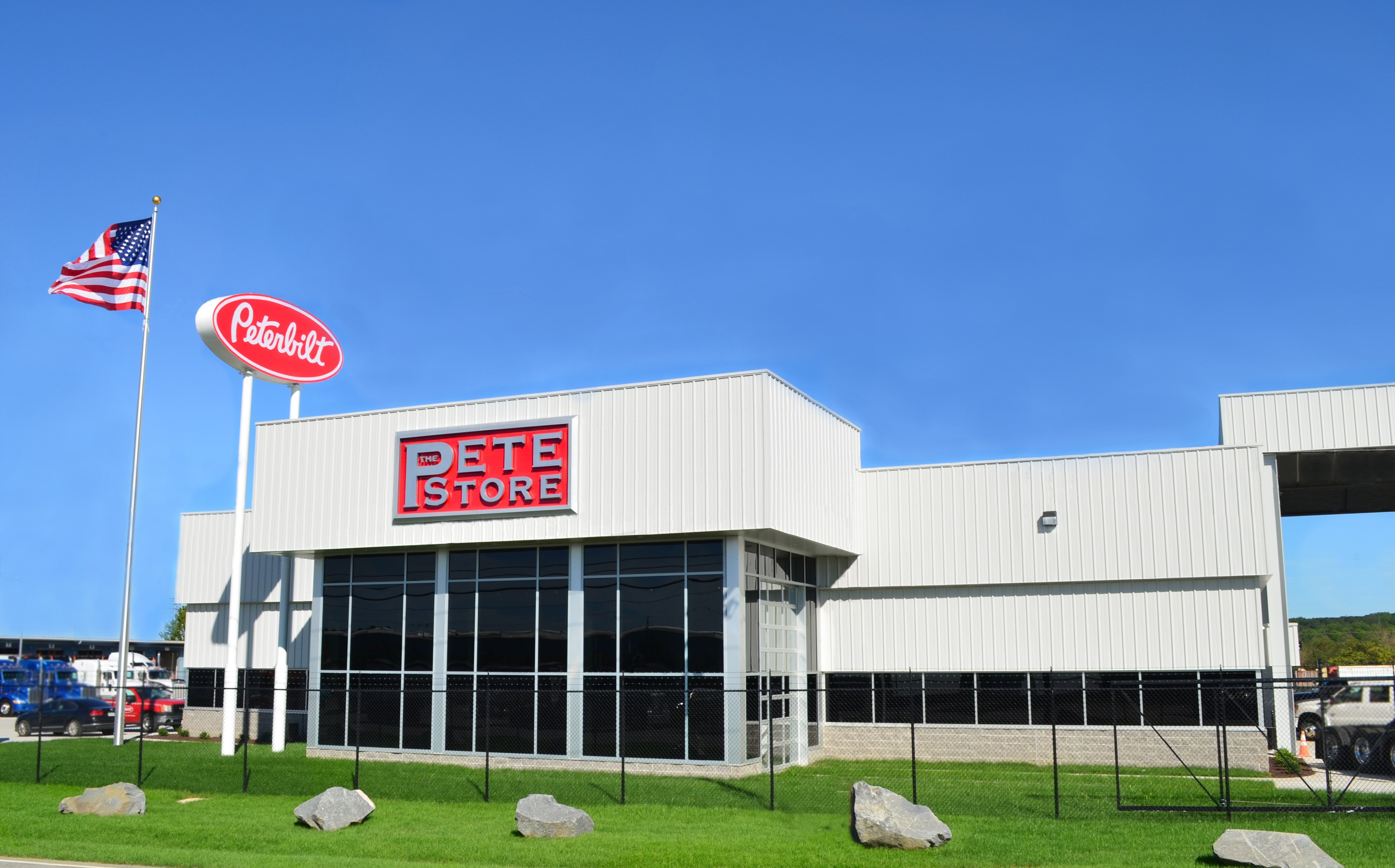 Peterbilt Dealership (Photo: Business Wire)