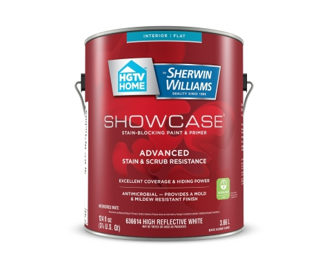 New and Improved Formula Showcase Interior Paint & Primer (Photo: Business Wire)