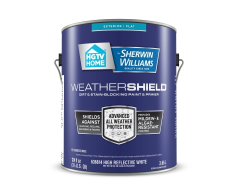 New WeatherShield Exterior Paint & Primer (Photo: Business Wire)