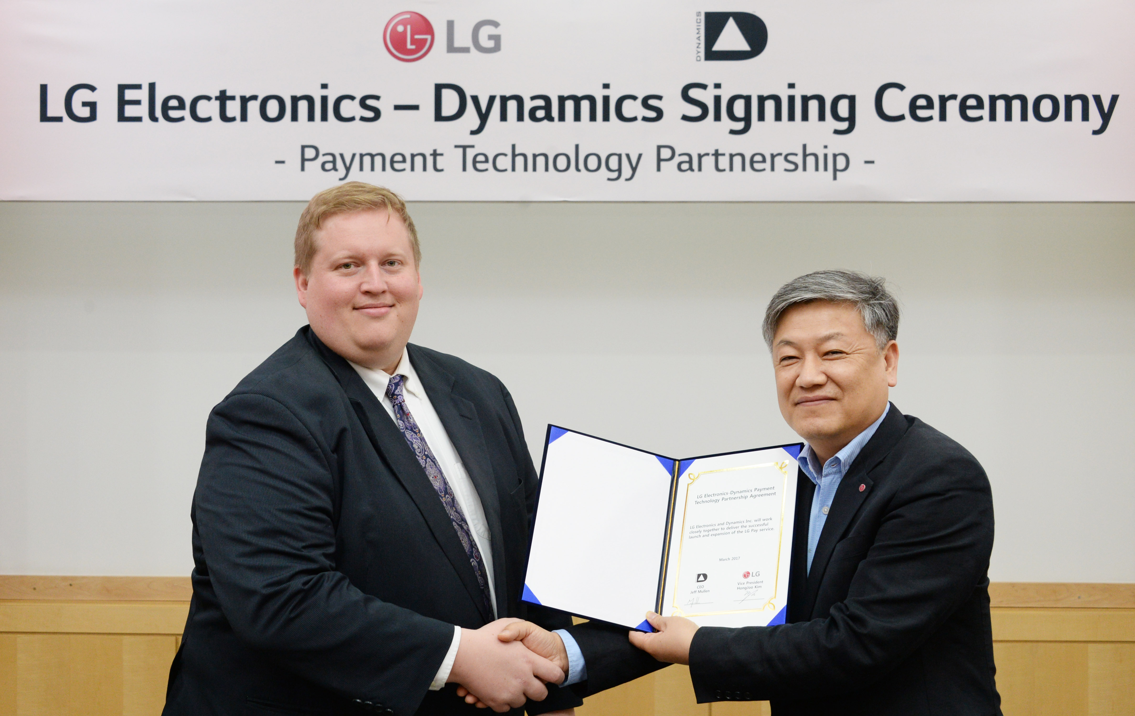 Dynamics Inc  and LG Electronics Announce Inclusion of