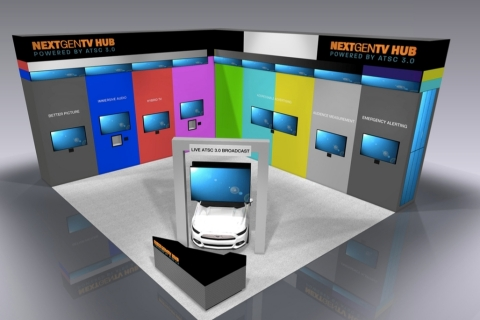 NextGen TV HUB: Powered by ATSC 3.0 (Graphic: Business Wire)