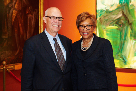 E. Philip Wenger, Fulton Financial Corporation, and Evelyn F. Smalls, United Bancshares, Inc. (Photo: Business Wire)