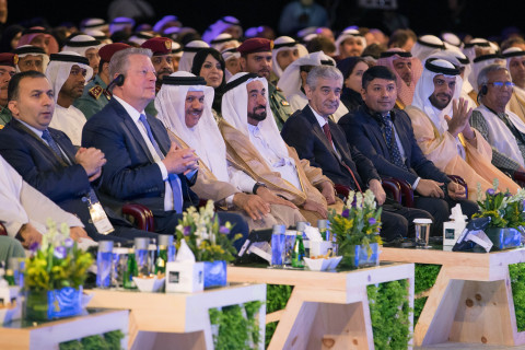 His Highness Sheikh Dr Sultan bin Mohamed Al Qasimi UAE Supreme Council Member and Ruler of Sharjah during the IGCF 2017 (Photo: ME NewsWire)