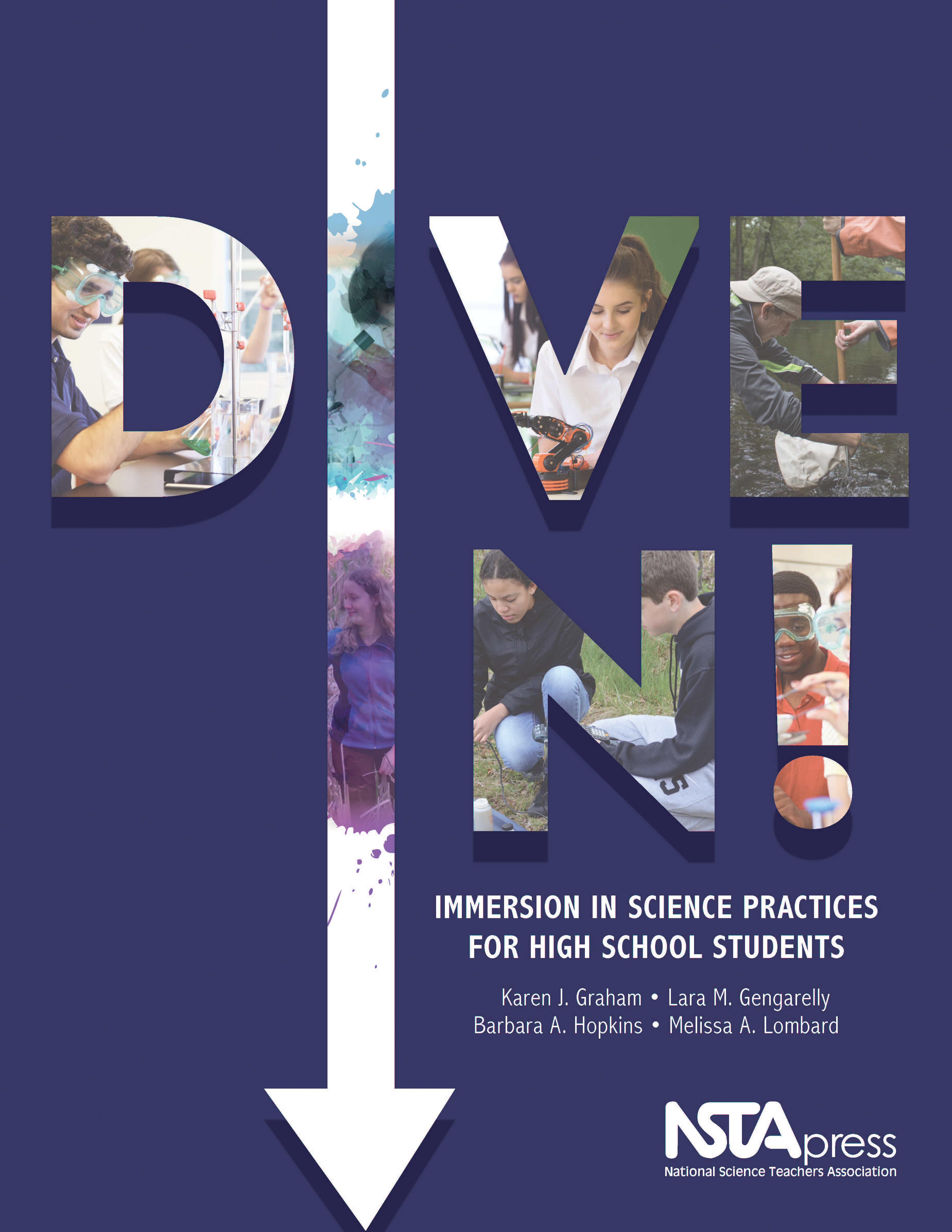 Dive In! Immersion in Science Practices for High School Students book cover (Graphic: Business Wire)