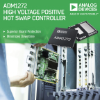 Analog Devices' +48V Hot Swap Controller with Digital Power Monitoring Provides Superior Plug-in Board Protection and Minimizes Downtime (Photo: Business Wire).