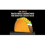 The Doritos® Locos Taco, the Taco Bell menu item that changed the way America thinks about crunchy tacos five years ago, is now changing how people can do good.