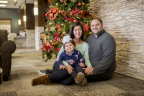 29-year old Tennessee resident Alexa Gash was denied insurance coverage for a life-saving cancer treatment, proton therapy. She is pictured here with her 14-month old daughter Valentina, and her husband Peter, who is an assistant basketball coach at the University of Tennessee-Chattanooga. (Photo: Business Wire)