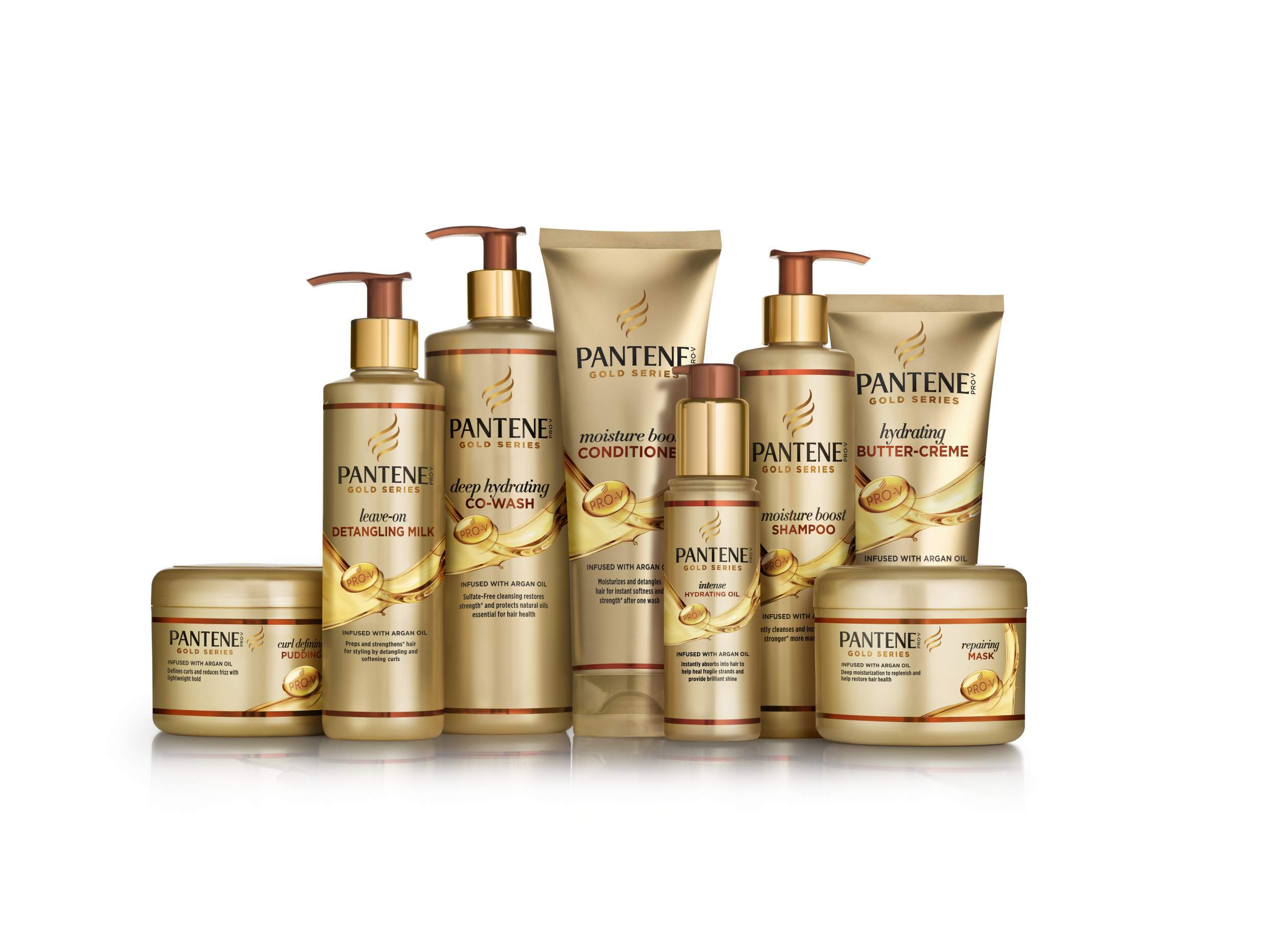 Pantene Gold Series Collection (Photo: Business Wire)