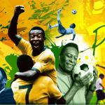 巴西足球传奇巨星贝利(照片:美国商业资讯)