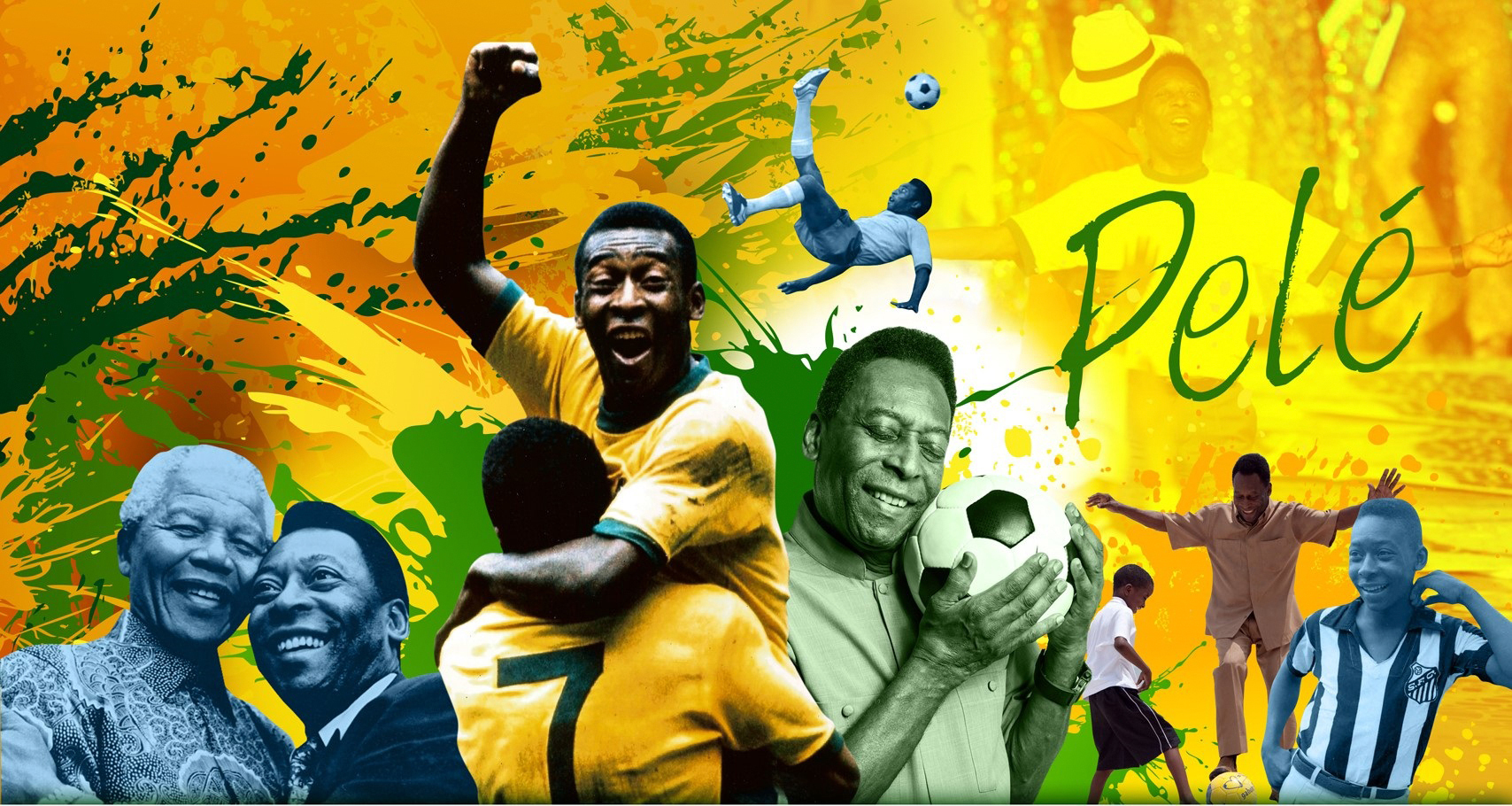 ブラジルのサッカーレジェンド、ペレ。(写真:ビジネスワイヤ)