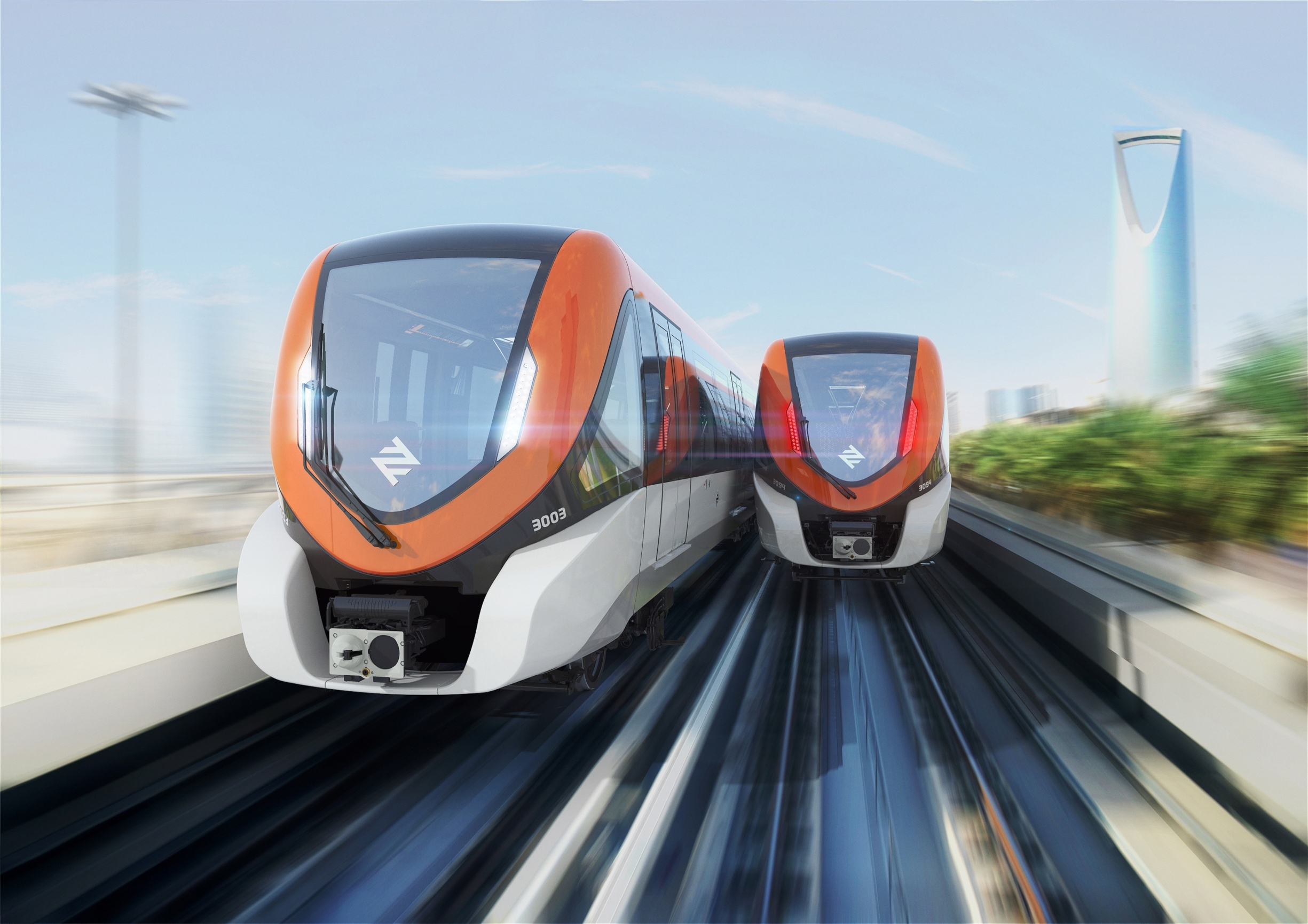 DHL to deliver 47 Bombardier train sets from production site in Mexico to Saudi Arabia for Riyadh's new metro line (Photo: Business Wire)