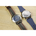 Swiss wearable brand MyKronoz shows off ZeTime, the first fully hybrid smartwatch, at the world's most prestigious watch show, Baselworld (Photo: Business Wire)
