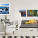 Define your space with gallery inspired art from LIK Squared. (Photo: Business Wire)