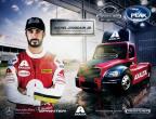 Axalta's Imron Elite® coats Michel Jourdain, Jr.'s truck in the NASCAR® PEAK Mexico Series 2017 (Photo: Axalta)