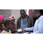 First time donation of 1,584 Solar Lanterns to South Africa, Swaziland, and Lesotho (Photo: Business Wire)