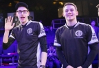 TSM's teammates Bjergsen left and Svenskeren are a double threat and can be followed on Twitter @Bjergsen and @TSMSvenskeren. (Photo: Business Wire)