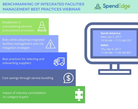 SpendEdge has announced the dates for their upcoming webinar. (Graphic: Business Wire)