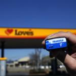 Transflo ELD T7 at Love's (Photo: Business Wire)
