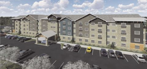 Las Colinas WaterWalk Hotel Apartments (Photo: Business Wire)