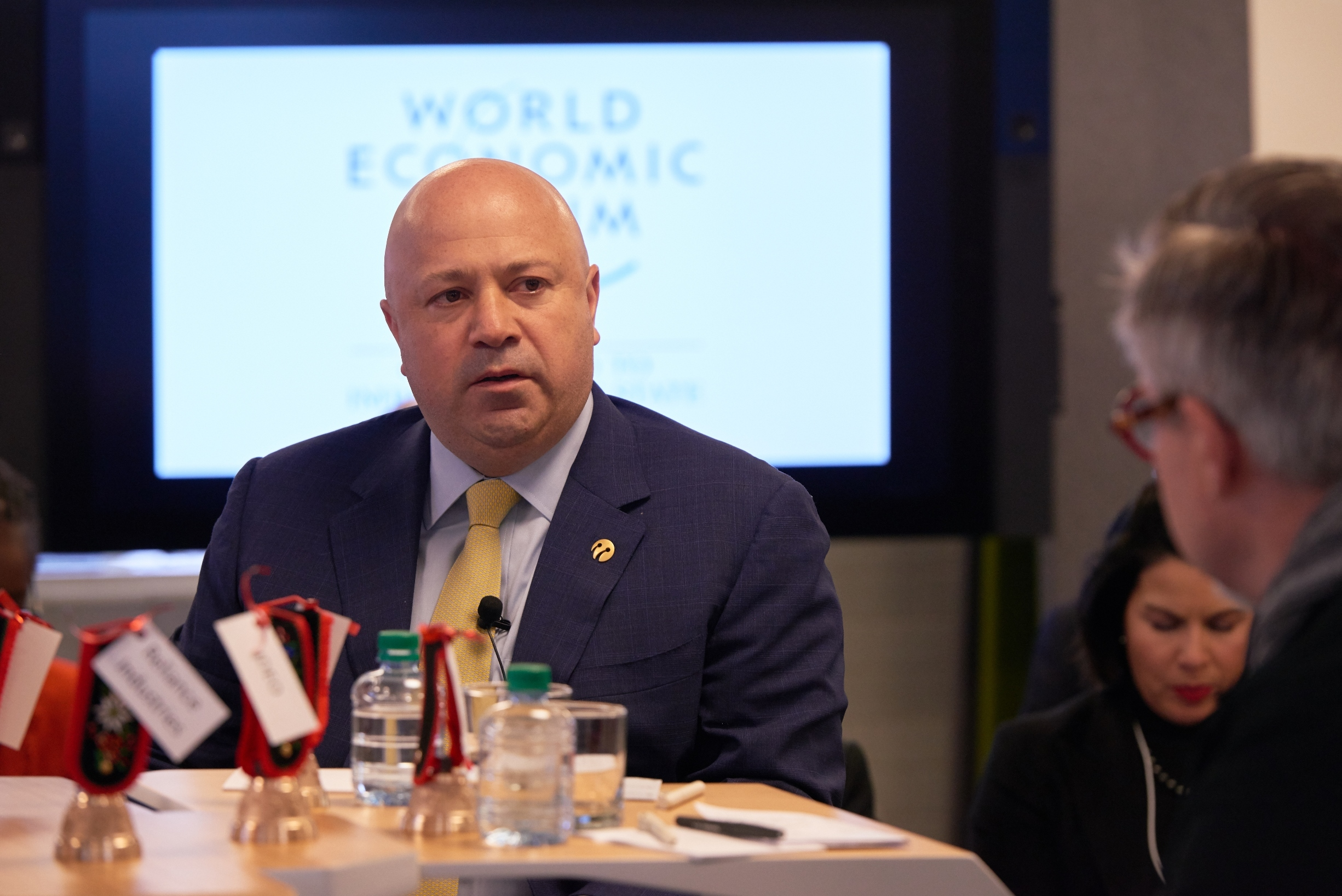 Turkcell CEO Kaan Terzioglu at the World Economic Forum's Center for Fourth Industrial Revolution (Photo: Business Wire)