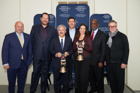 Turkcell CEO Kaan Terzioglu at the World Economic Forum's Center for Fourth Industrial Revolution (P ...